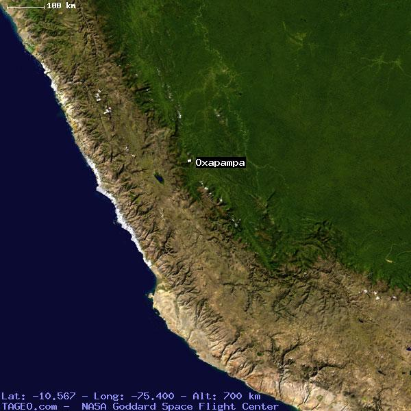 Oxapampa Peru Map.Oxapampa Pasco Peru Geography Population Map Cities Coordinates