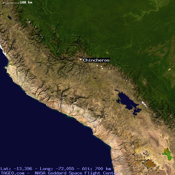 Chinchero Peru Map
