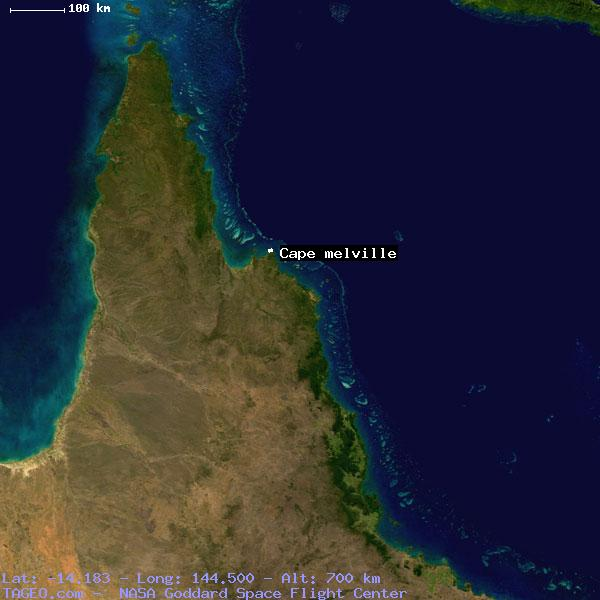 CAPE MELVILLE QUEENSLAND AUSTRALIA Geography Population Map cities