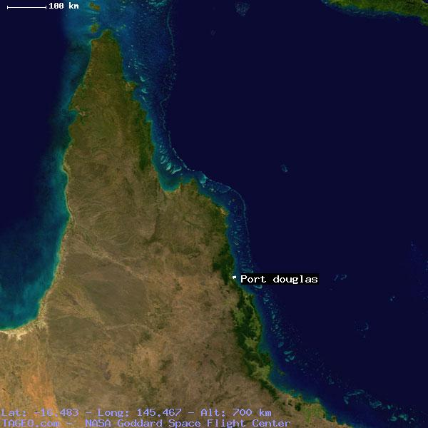 Map Of Australia Port Douglas.Port Douglas Queensland Australia Geography Population Map Cities