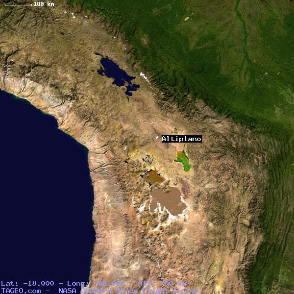 altiplano bolivia general bolivia geography population map cities