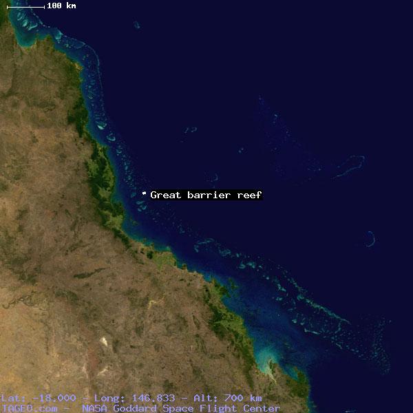 Great Barrier Reef Queensland Australia Geography Population