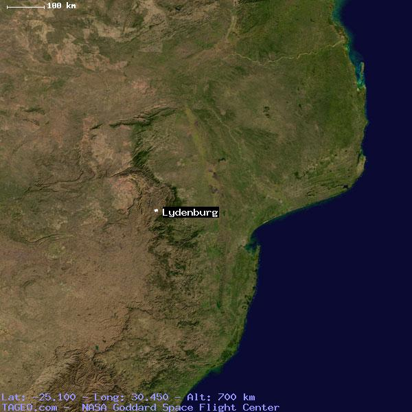 LYDENBURG MPUMALANGA SOUTH AFRICA Geography Population Map cities