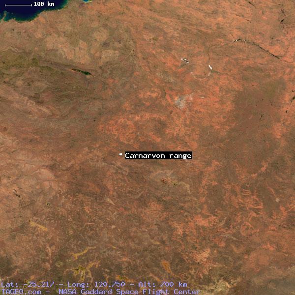 CARNARVON RANGE WESTERN AUSTRALIA AUSTRALIA Geography