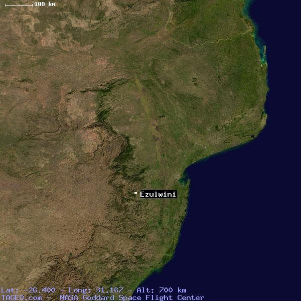 Satellite view of ezulwini