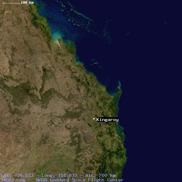 Kingaroy Australia  City pictures : KINGAROY QUEENSLAND AUSTRALIA Geography Population Map cities ...
