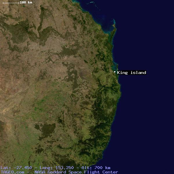 Map Of Australia King Island.King Island Queensland Australia Geography Population Map Cities