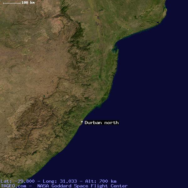 durban north map