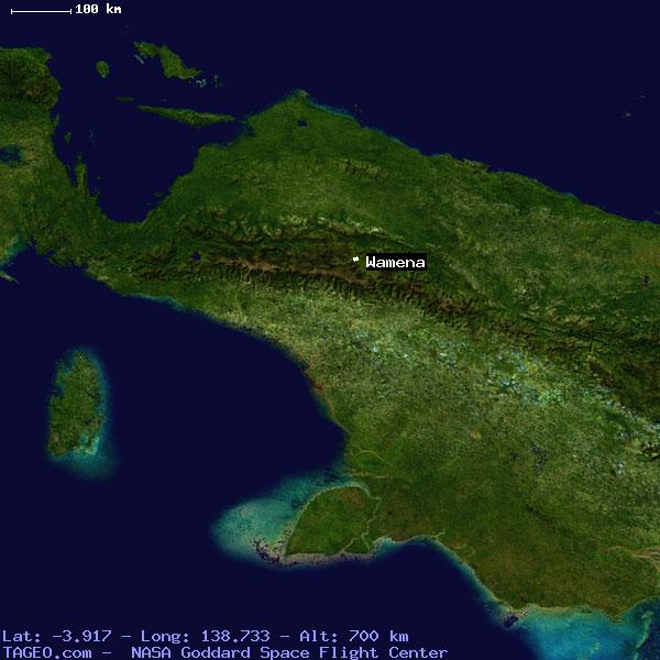 Wamena Papua Indonesia Geography Population Map Cities