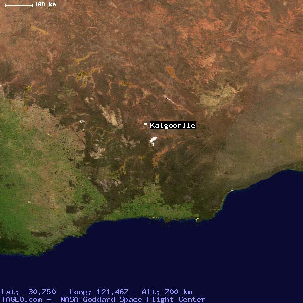 Kalgoorlie Australia Map.Kalgoorlie Western Australia Australia Geography Population Map
