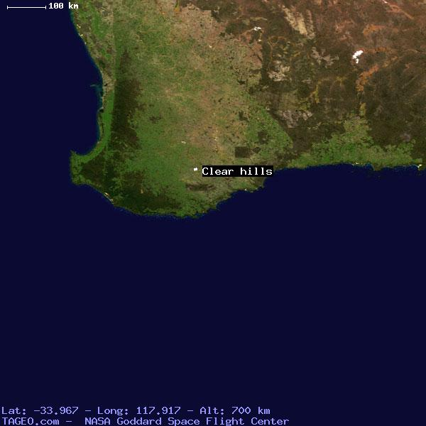 Clear Map Of Australia.Clear Hills Western Australia Australia Geography Population Map