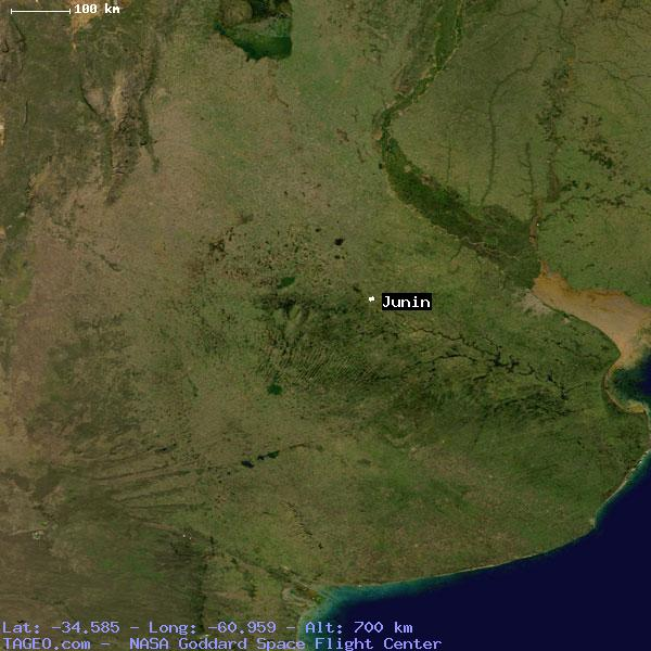JUNIN BUENOS AIRES ARGENTINA Geography Population Map Cities - Junin argentina map