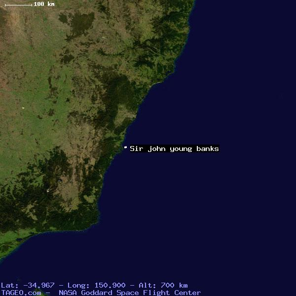 Map Of Young Australia.Sir John Young Banks New South Wales Australia Geography Population