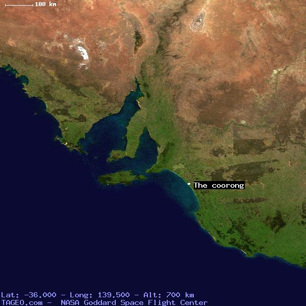 The Coorong South Australia Australia Geography Population