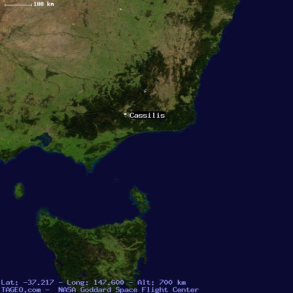 CASSILIS VICTORIA AUSTRALIA Geography Population Map cities