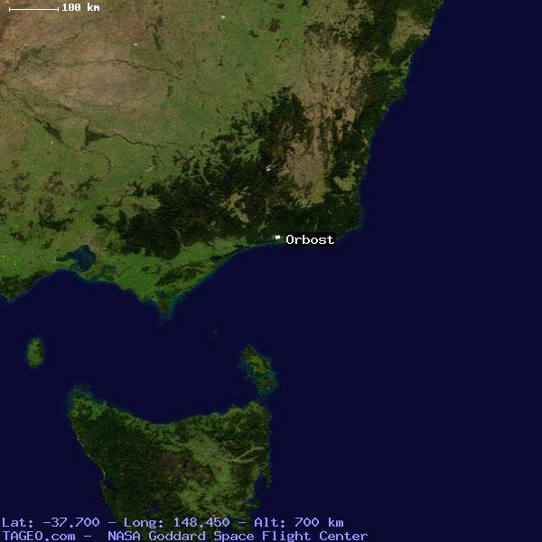 Orbost Australia  city pictures gallery : ORBOST VICTORIA AUSTRALIA Geography Population Map cities coordinates ...