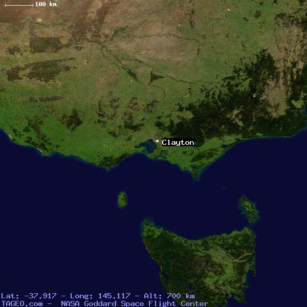 Map Of Victoria Australia With Cities.Clayton Victoria Australia Geography Population Map Cities