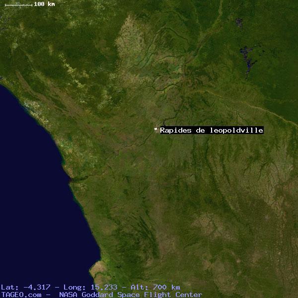 RAPIDES DE LEOPOLDVILLE CONGO DEMOCRATIC REPUBLIC OF THE GENERAL