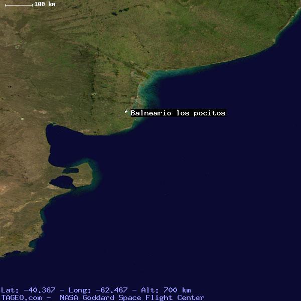 BALNEARIO LOS POCITOS BUENOS AIRES ARGENTINA Geography Population - Argentina map of cities