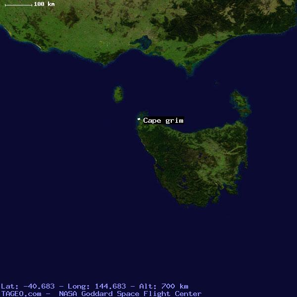 CAPE GRIM TASMANIA AUSTRALIA Geography Population Map cities