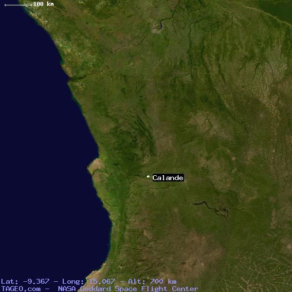 calande cuanza norte angola geography population map cities