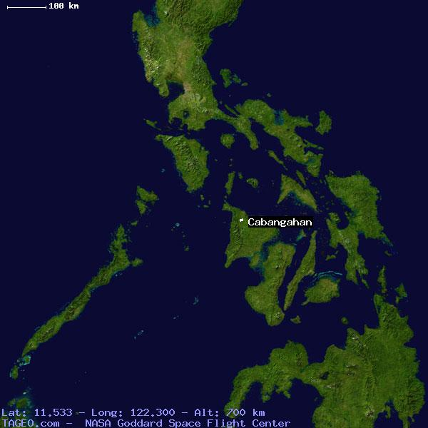 CABANGAHAN AKLAN PHILIPPINES Geography Population Map cities ...