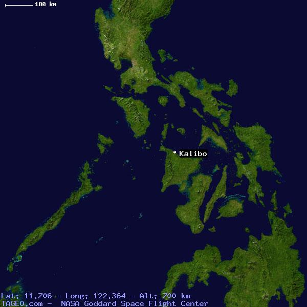 Kalibo Philippines  City new picture : KALIBO AKLAN PHILIPPINES Geography Population Map cities coordinates ...