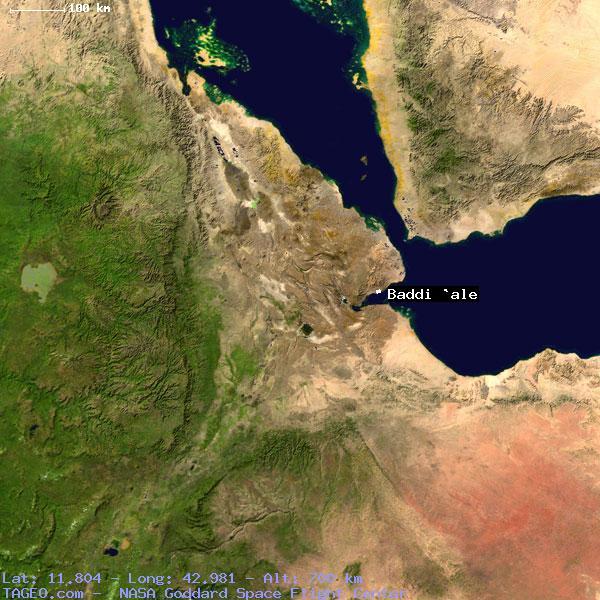 Satellite view of baddi ale
