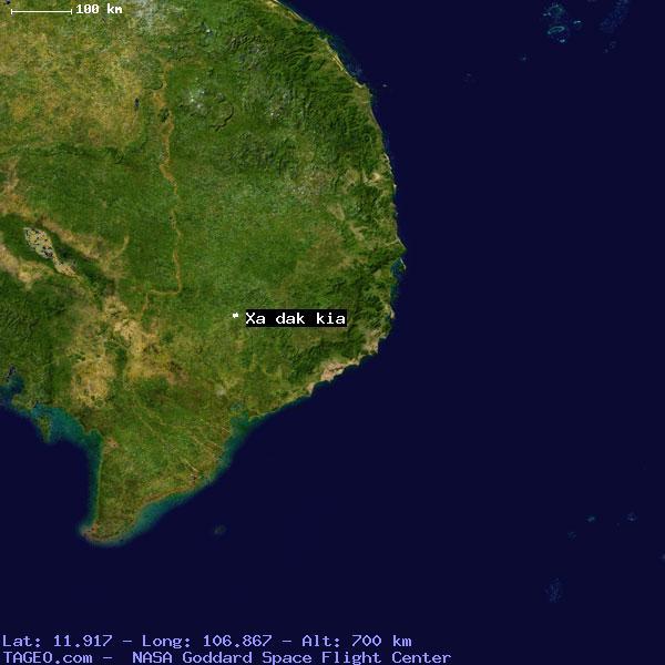 Xa dak kia vm31 vietnam geography population map cities xa dak kia sciox Images