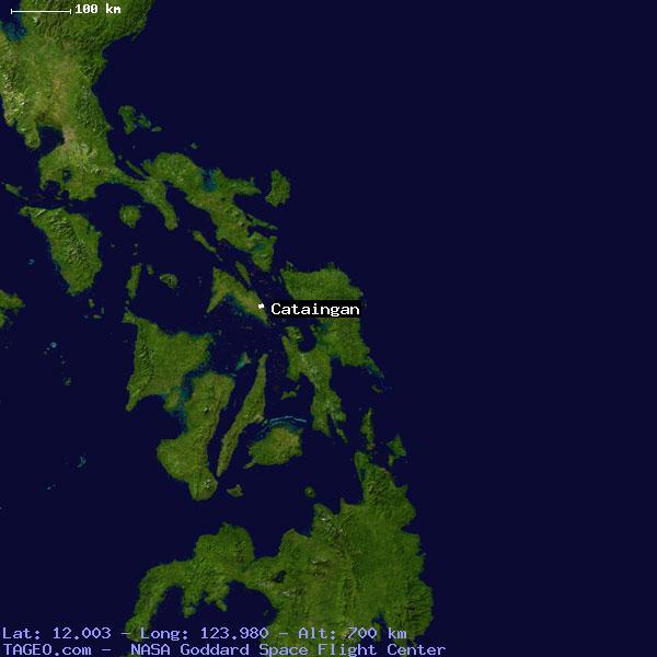 Masbate Philippines Map.Cataingan Masbate Philippines Geography Population Map Cities