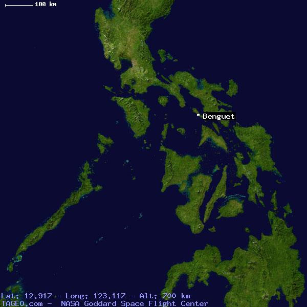 BENGUET MASBATE PHILIPPINES Geography Population Map cities ...