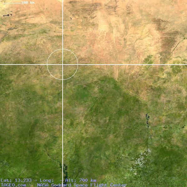 Satellite view of Libog