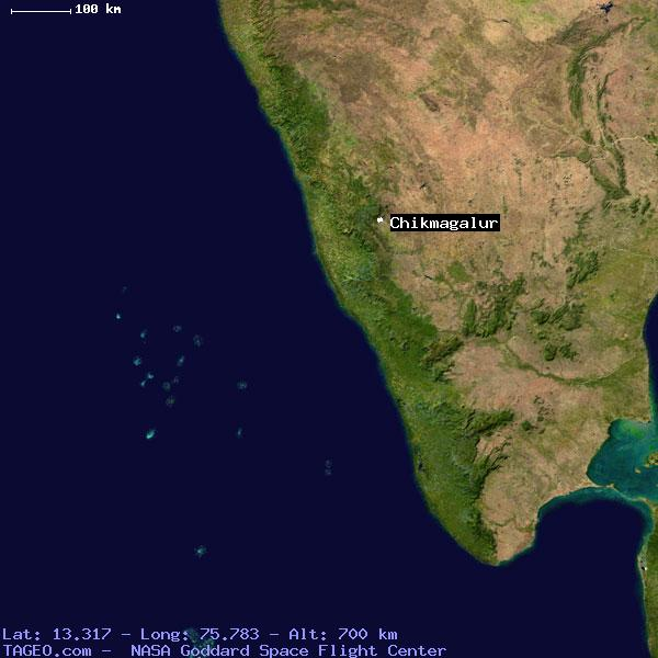 CHIKMAGALUR KARNATAKA INDIA Geography Population Map Cities - Chikmagalur map