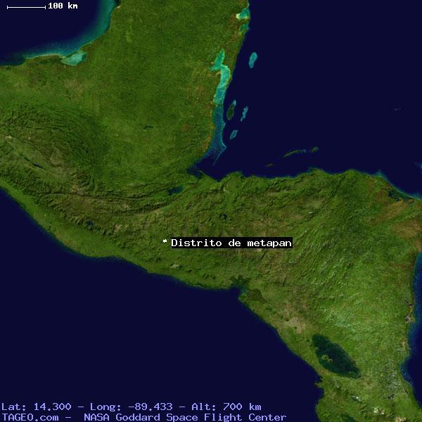 DISTRITO DE METAPAN SANTA ANA EL SALVADOR Geography Population Map Cities Coordinates Location