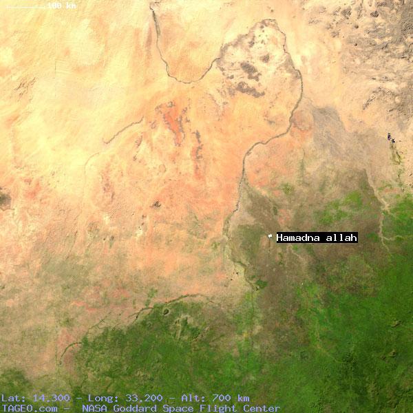 HAMADNA ALLAH (SU27) SUDAN Geography Population Map cities