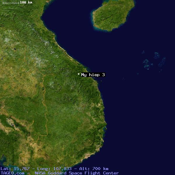 MY HIEP VM VIETNAM Geography Population Map Cities - Satellite map of my location