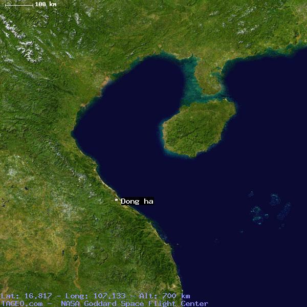 Dong Ha Quang Tri Vietnam Geography Population Map Cities