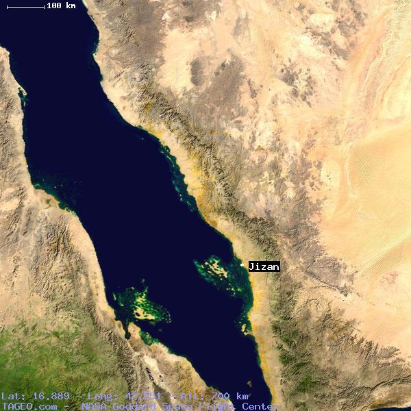 Jizan Jizan Saudi Arabia Geography Population Map Cities