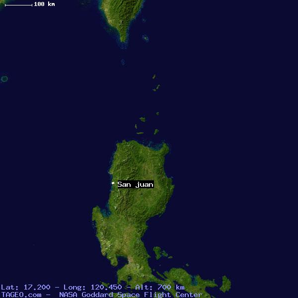 SAN JUAN ILOCOS SUR PHILIPPINES Geography Population Map Cities - Map us laatitude san juan