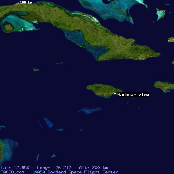HARBOUR VIEW SAINT ANDREW JAMAICA Geography Population Map cities