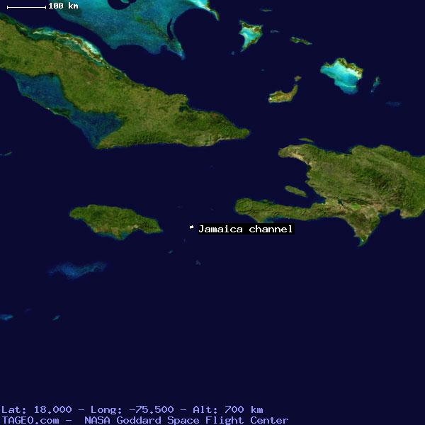 JAMAICA CHANNEL JAMAICA GENERAL JAMAICA Geography Population Map - World map jamaica
