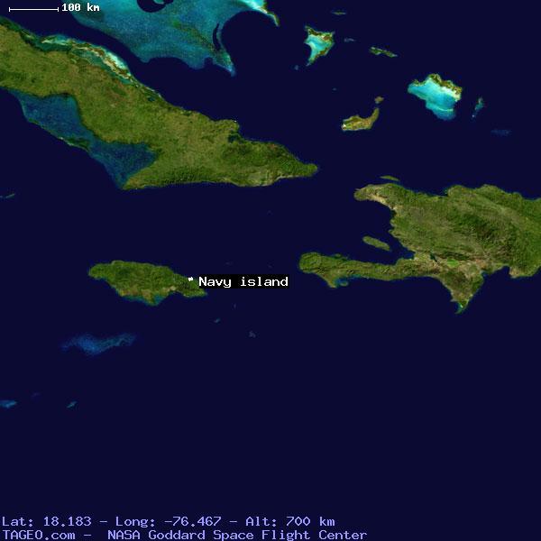 navy island portland jamaica geography population map cities coordinates location tageocom