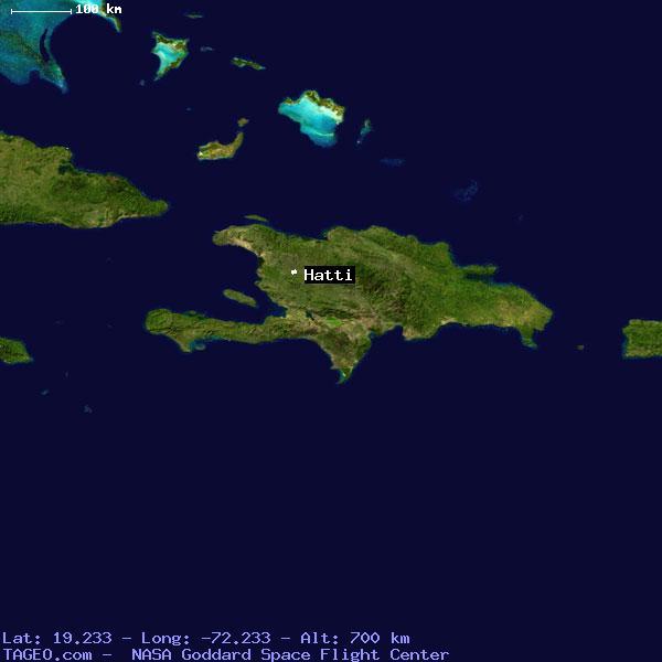 HATTI CENTRE HAITI Geography Population Map cities coordinates location