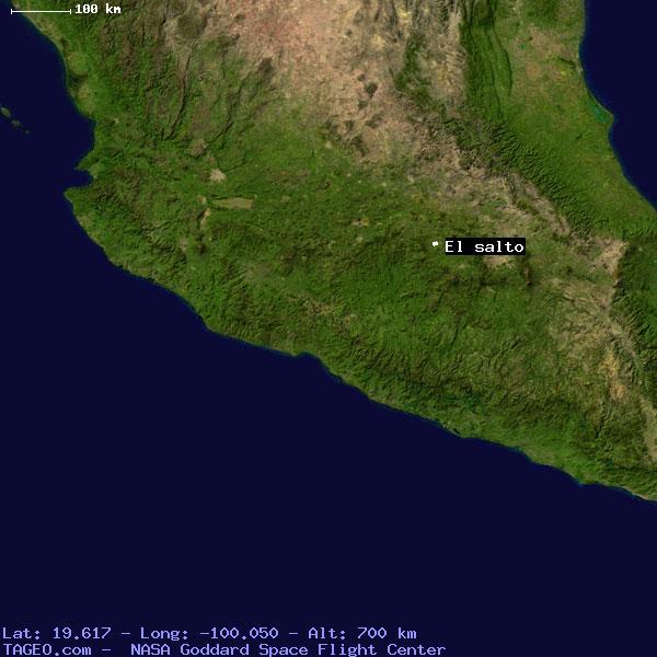 El Salto Mexico Mexico Geography Population Map Cities Coordinates