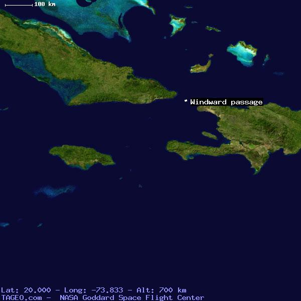 Windward Passage Haiti General Haiti Geography