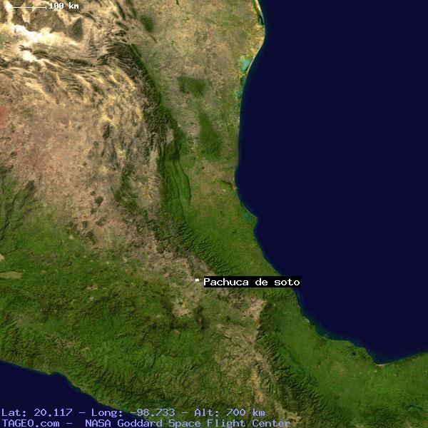 Pachuca De Soto Hidalgo Mexico Geography Population Map Cities