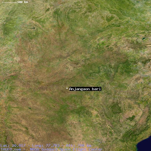 ANJANGAON BARI MAHARASHTRA INDIA Geography Population Map Cities - Bari map