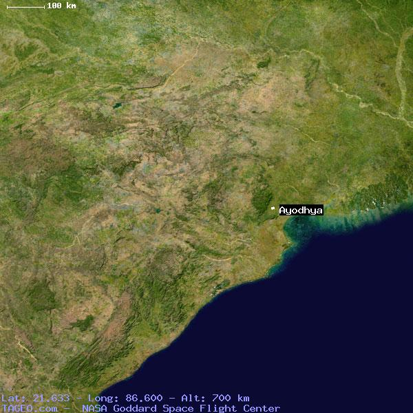 Ayodhya In India Map.Ayodhya Orissa India Geography Population Map Cities Coordinates