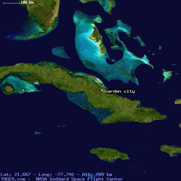 Garden City Camaguey Cuba Geography Population Map Cities Coordinates Location Tageo Com