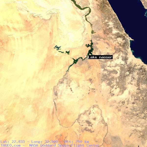 Lake Nasser Egypt General Egypt Geography Population Map Cities